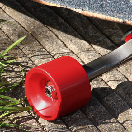 Signal Red Pigmented Skateboard Wheel